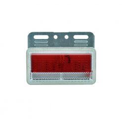 Πλαϊνά Φορτηγών-Ρυμουλκών 24 Volt 22Led Κόκκινο