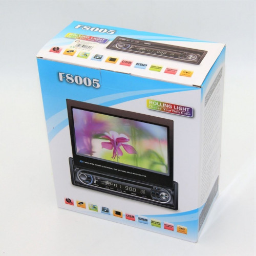 7'' WIDE SCREEN ELECTRONIC POP UP PANEL MULTI MEDIA PLAYER AU