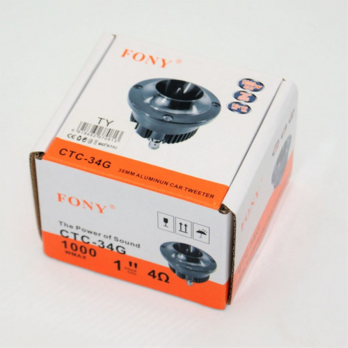 ALUMINUN CAR TWEETER 38mm