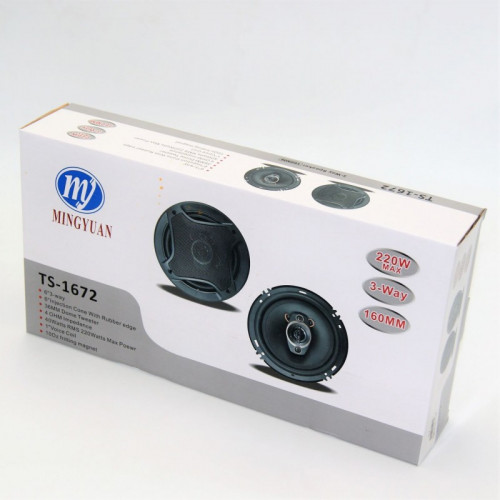 3-WAY SPEAKER 160MM 220W